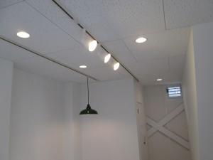 照明器具配線取付工事
