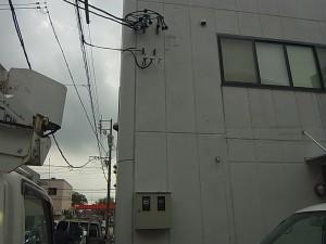 電気メーター移設工事-A03