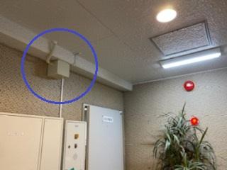 名古屋市西区のビルにてコンセント増設及び照明器具取替電気工事