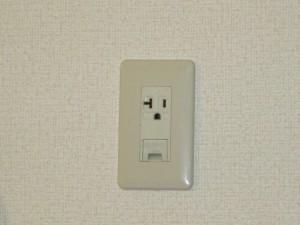 エアコン用コンセント変換工事-A04