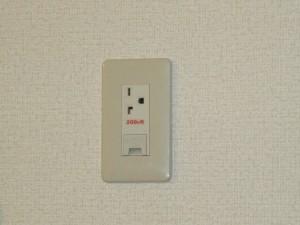 エアコン用コンセント変換工事-A05