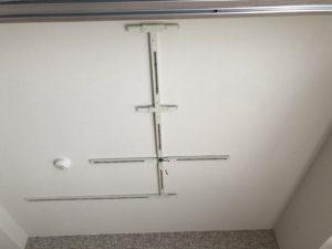 名古屋市昭和区のマンションにて配線ダクトの取付電気工事