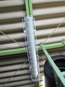 照明器具ガード取付工事-A02