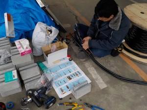 高圧電気ケーブル端末処理工事-A05
