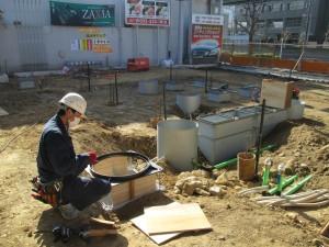 マンホール設置工事-A03