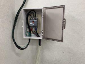 名古屋市港区の工場にて機械設備用電源及び配線・配管電気工事