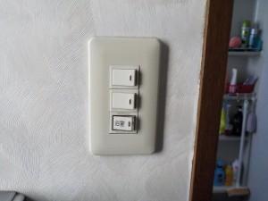 換気扇スイッチ取替工事-A04