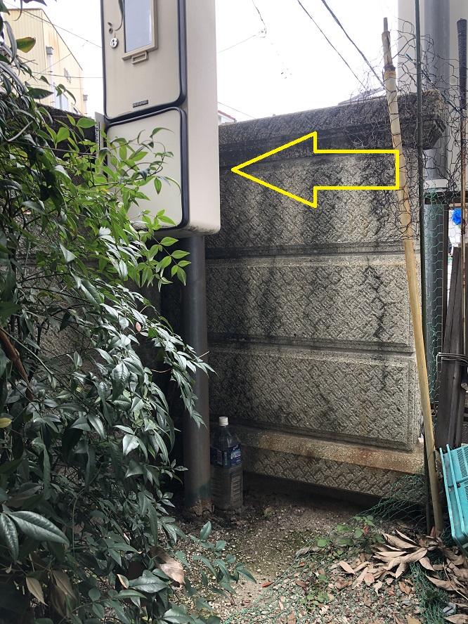 名古屋市守山区の戸建住宅にてスッキリポールの取替電気工事