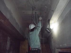 店舗改修配線工事-A02