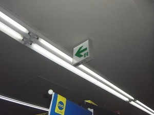 誘導灯取付工事-A02