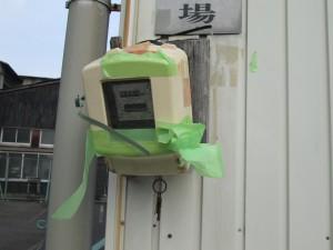 電気メーター板とボックス取替工事-A01