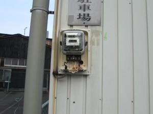 電気メーター板とボックス取替工事-A04