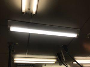 名古屋市緑区の飲食店にて照明器具の取替電気工事